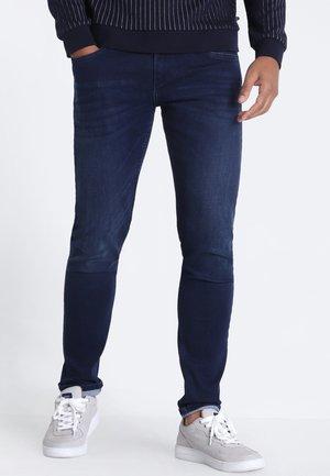 MIT 5 TASCHEN - Slim fit jeans - denim brut