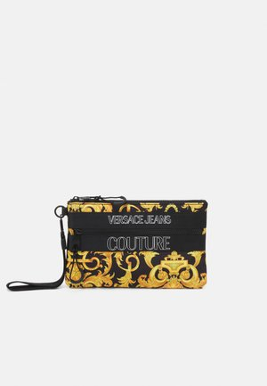 UNISEX - Across body bag - black/gold