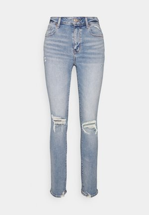 HI RISE SKINNY - Jeansy Skinny Fit - authentic light