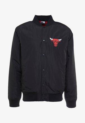 NBA TEAM LOGO JACKET CHICAGO BULLS - Club wear - black