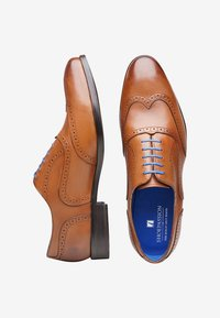 SHOEPASSION - NO. 5621 BL - Smart lace-ups - nut brown - 1