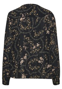 Kaffe - KAJUSTINA PPP - Bluser - black - brown flower print - 5