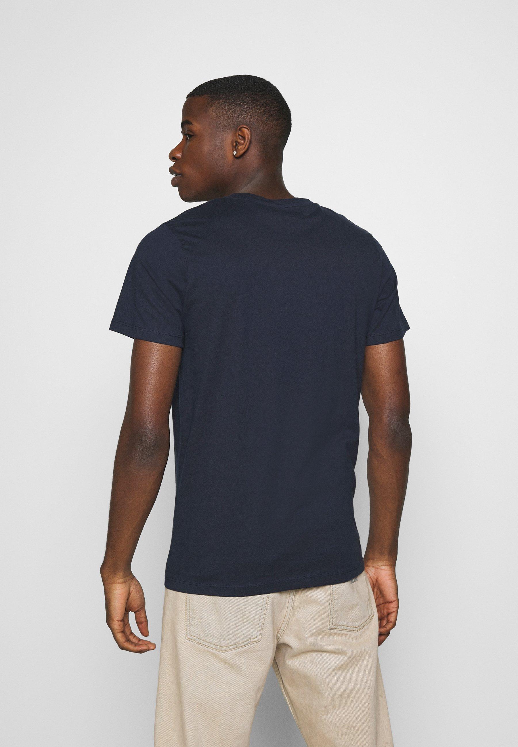 Jack & Jones JORSCALING TEE CREW NECK - Print T-shirt - navy blazer mXPPx