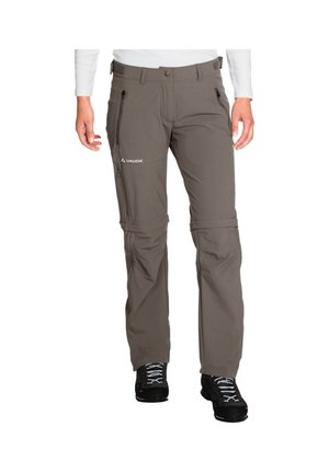 FARLEY STRETCH ZO T-ZIP - Outdoor trousers - braun (146)