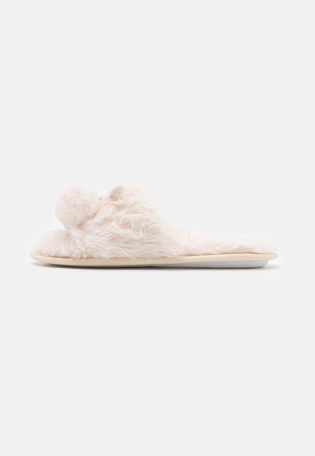NOMPOM POM SLIDER - Pantoffels - offwhite