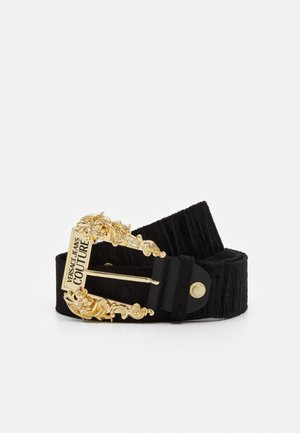 BAROQUE PIN BUCKLE BELT - Belt - nero