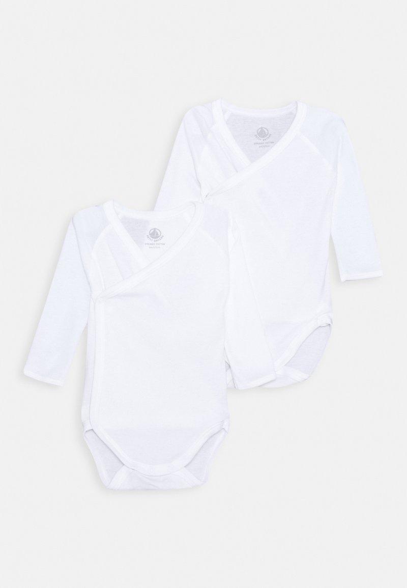 Petit Bateau - 2 PACK - Body - white