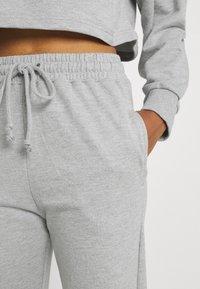 Missguided - OFF THE SHOULDER SET - Sweatshirt - grey marl - 4
