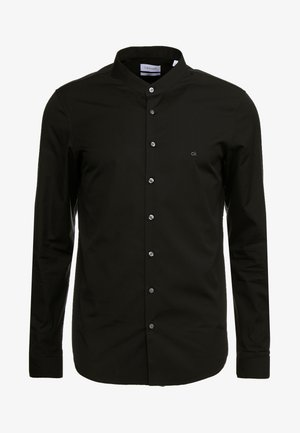 EASY IRON SLIM - Shirt - black