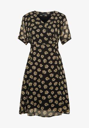 WRAPDRESS FLARED SHAPE BELT DETAIL - Denní šaty - multi-coloured