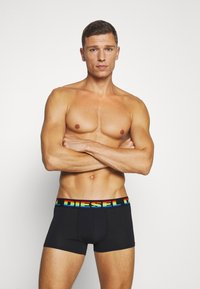Diesel - DAMIEN BOXERS 3 PACK - Pants - blue/black/blue - 3