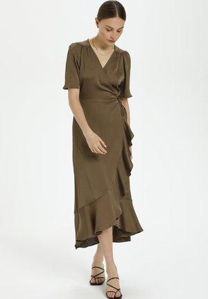 KARVEN - Day dress - chocolate chip