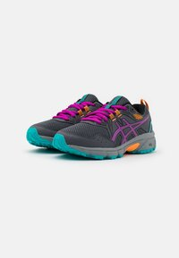 ASICS - GEL-VENTURE 8 UNISEX - Trail running shoes - carrier grey/orchid - 1
