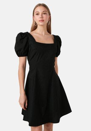 POPLIN  - Day dress - new black