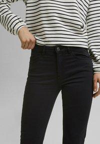 Esprit - MR CAPRI - Trousers - black - 5