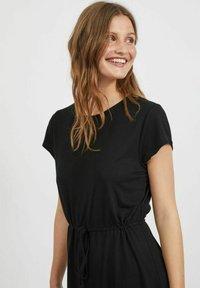 Vila - VIMOONEY STRING - Jersey dress - black - 4