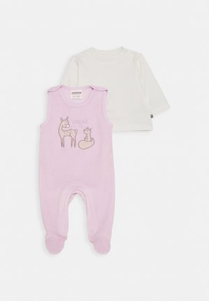 STRAMPLER WOODLAND TALE SET - Jumpsuit - flieder/off white