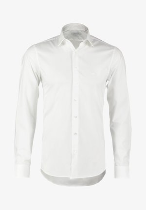 BARI SLIM FIT - Kostymskjorta - white