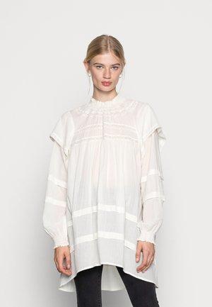 AYHANA TUNIC DRESS - Tunic - whisper white