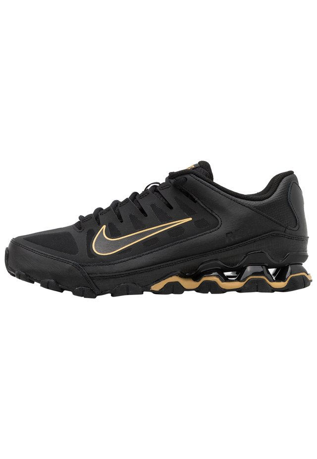 REAX 8  - Trainings-/Fitnessschuh - black/metallic gold