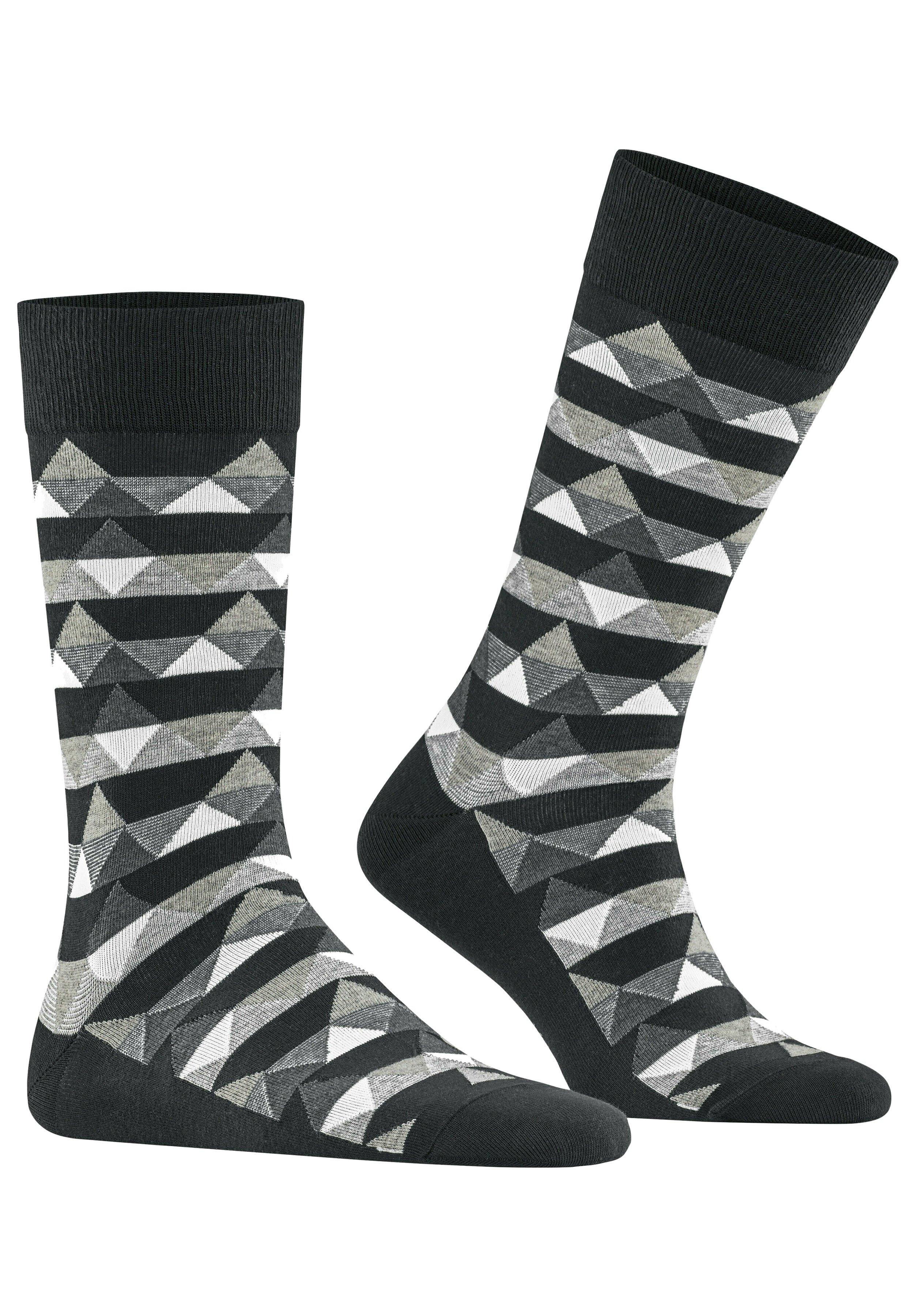Herren MOUNTAINS RHOMB - Socken - black