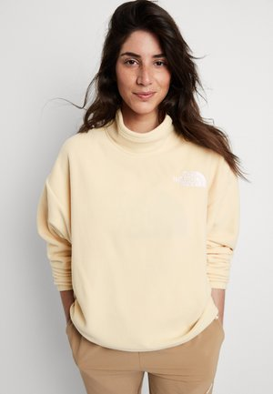POLAR - Fleece jumper - bleached sand