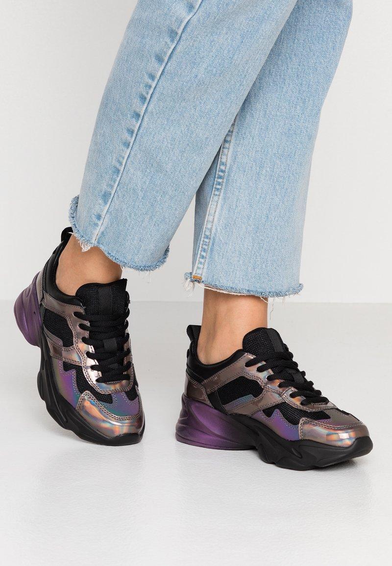 Steve Madden - MOTION - Sneakers - black/multicolor