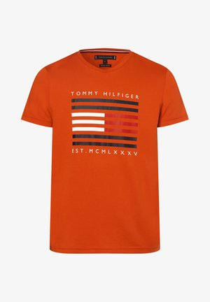 T-shirt imprimé - orange