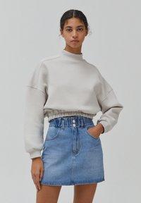 PULL&BEAR - A-line skirt - blue - 0
