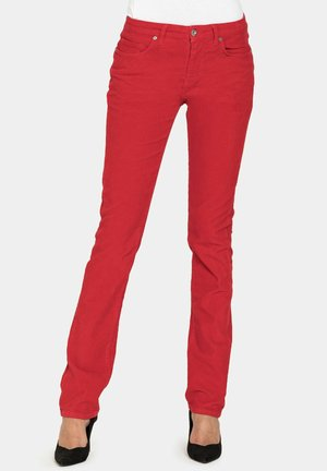Jeans a sigaretta - rosso