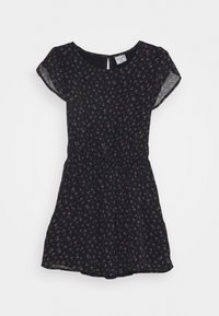 Abercrombie & Fitch - TULIP SLEEVE DRESS - Day dress - navy - 0