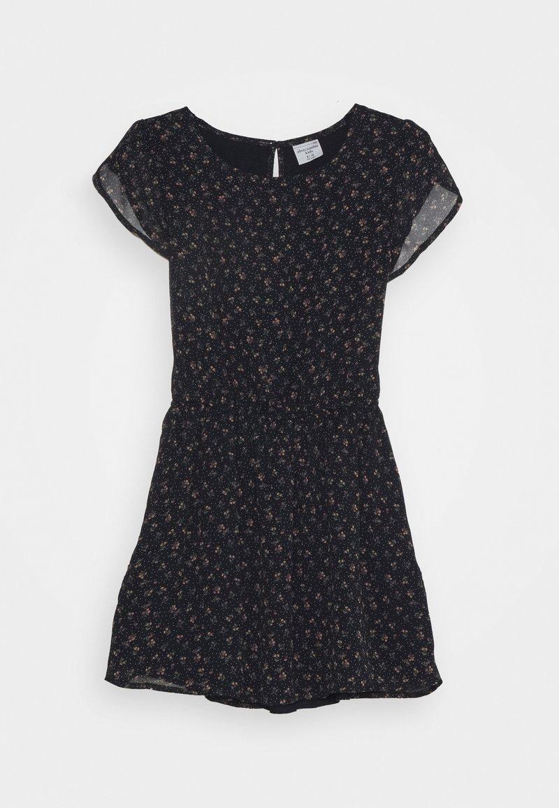 Abercrombie & Fitch - TULIP SLEEVE DRESS - Day dress - navy