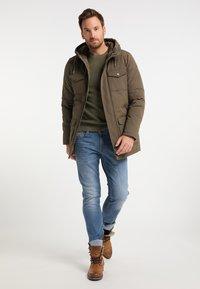 DreiMaster - Winter coat - militär oliv - 1