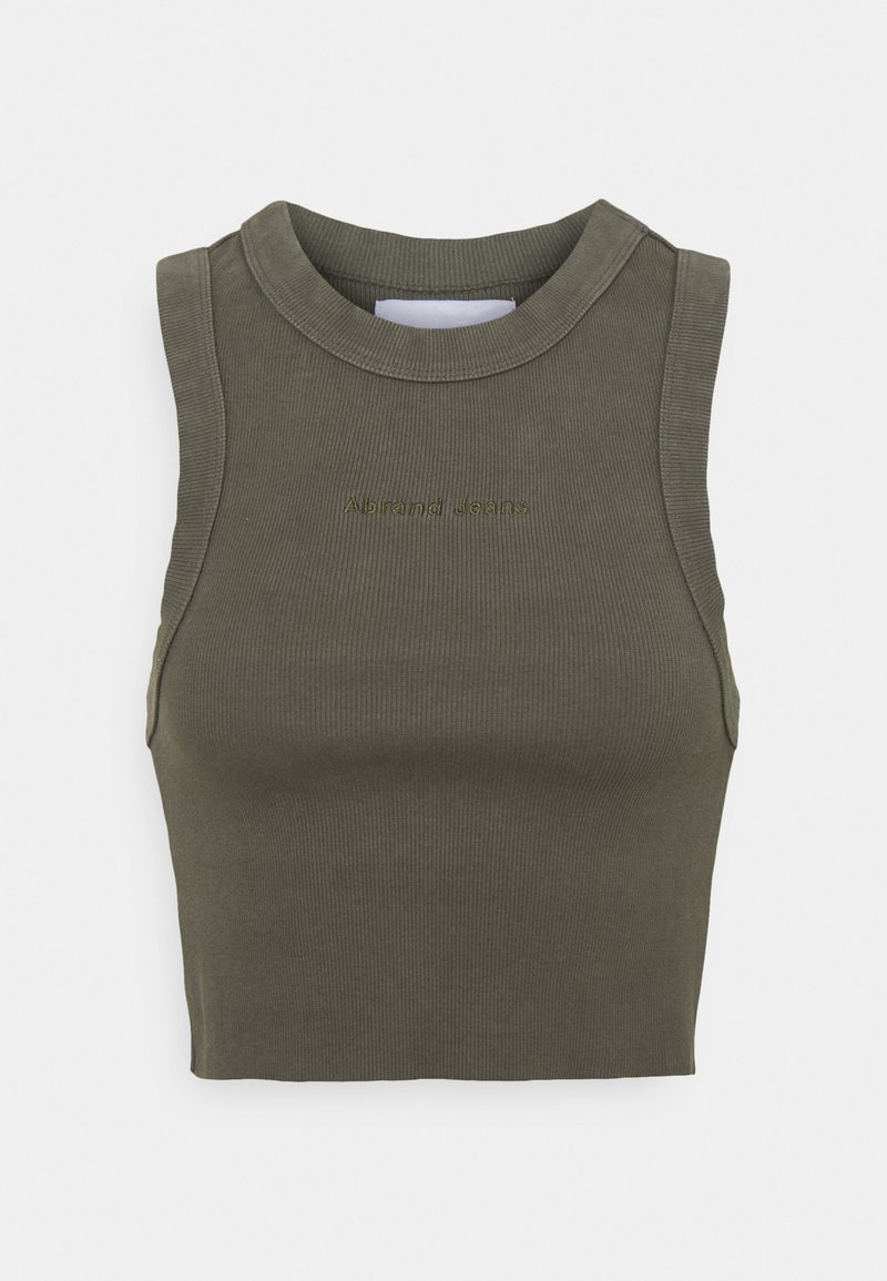 Abrand Jeans - HEATHER SINGLET - Top - olive