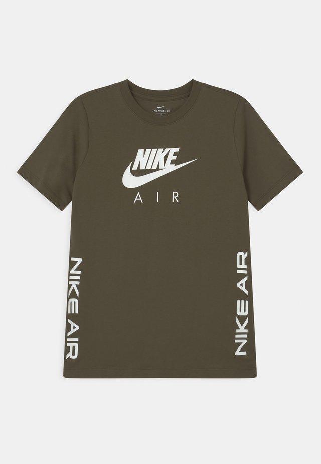 TEE AIR - T-shirt print - cargo khaki