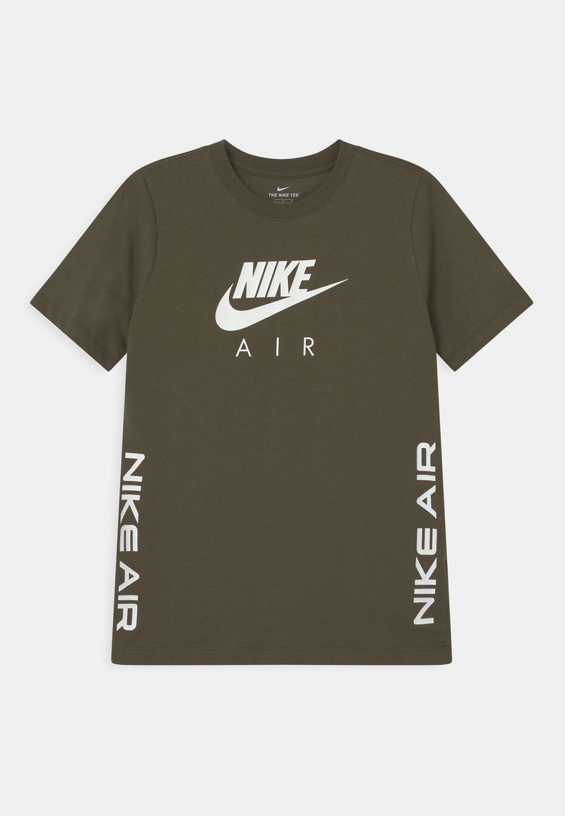 Nike Sportswear - TEE AIR - T-shirts med print - cargo khaki