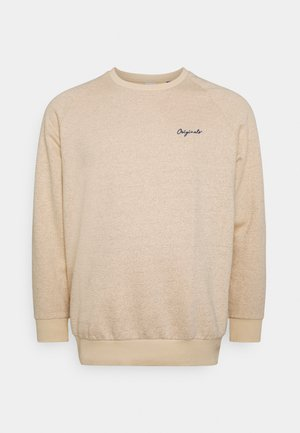 JORHIDE CREW NECK - Sweater - oatmeal