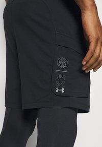 Under Armour - RUN ANYWHERE 2-IN-1 LONG - Pantaloncini sportivi - black - 5