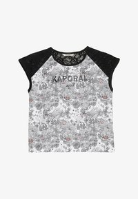 Kaporal - LATE - T-shirts print - white - 2