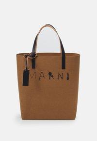 TRIBECA UNISEX - Shopping bag - kamut/black