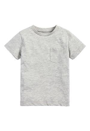 LIGHT GREEN SHORT SLEEVE T-SHIRT (3MTHS-7YRS) - T-shirts basic - grey