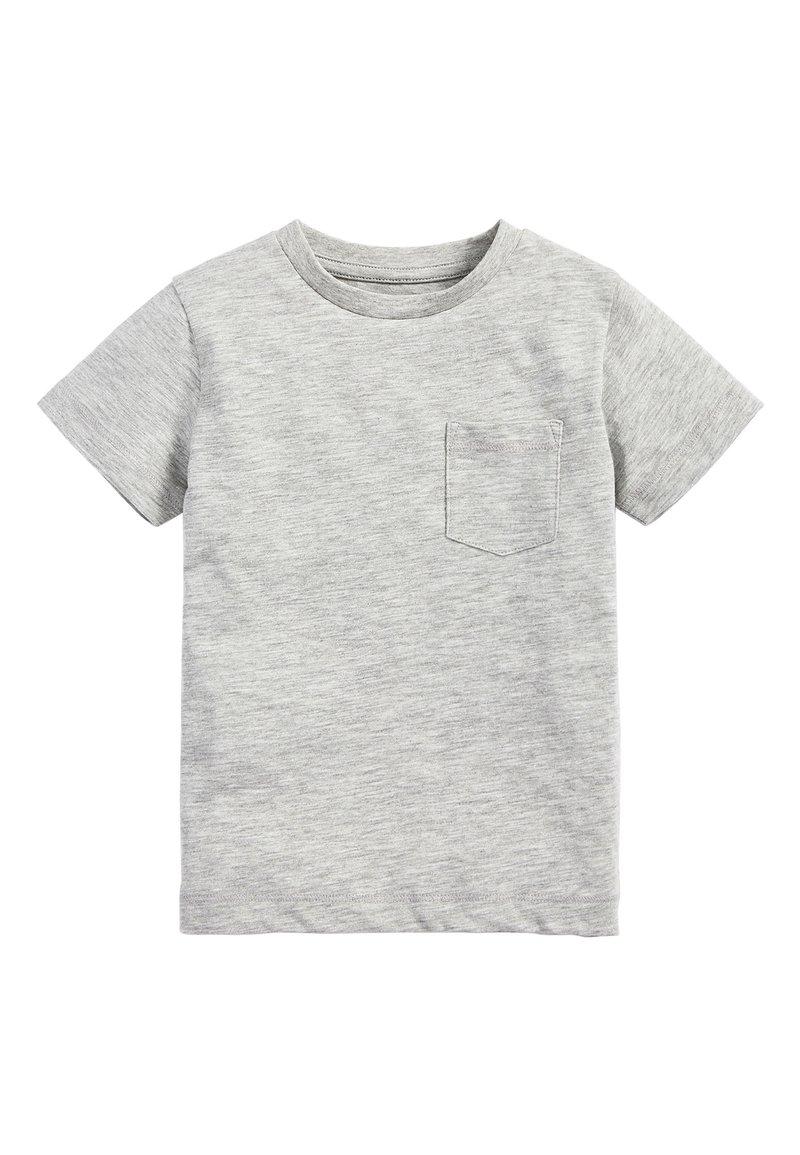 Next - LIGHT GREEN SHORT SLEEVE T-SHIRT (3MTHS-7YRS) - Basic T-shirt - grey