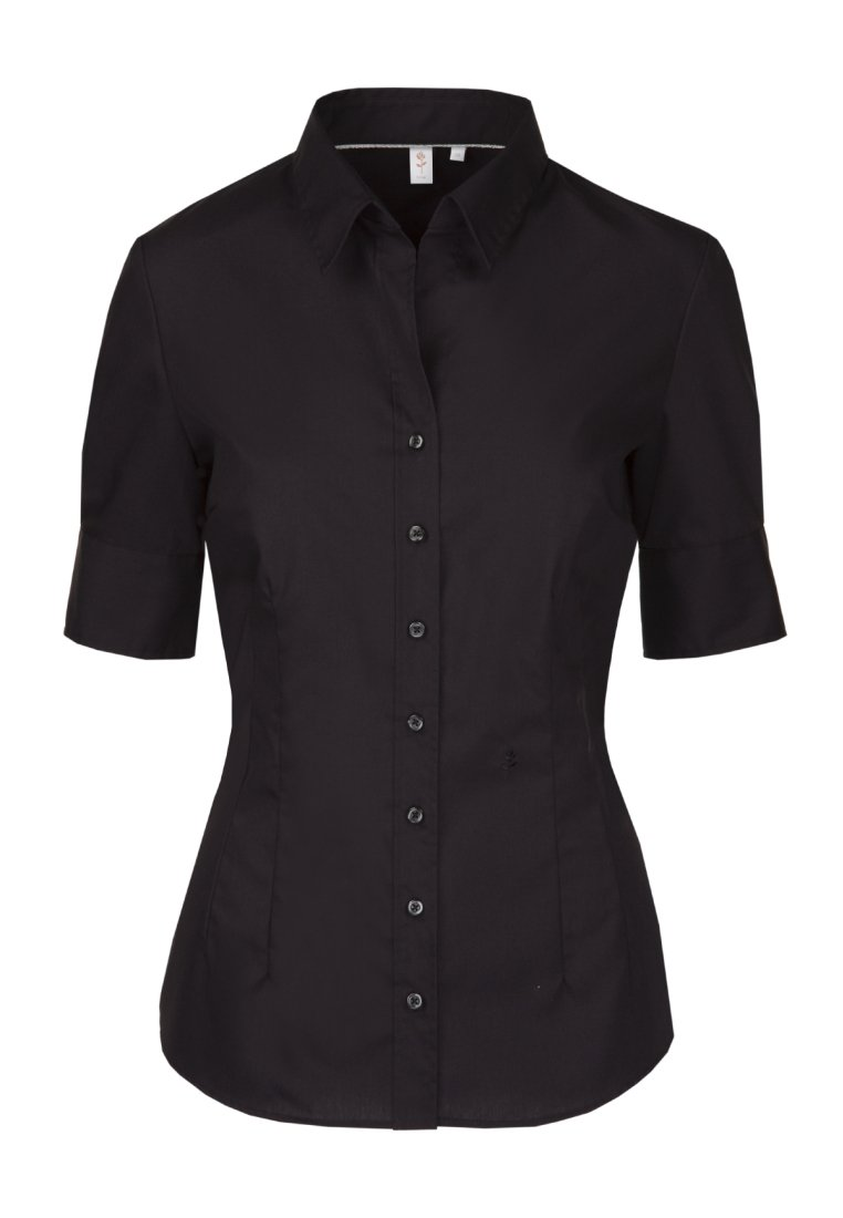 Seidensticker - Button-down blouse - schwarz
