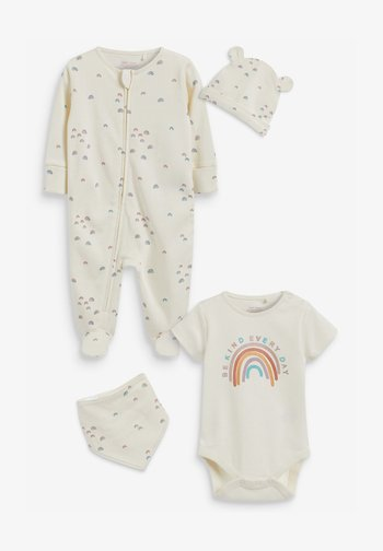 SET - Sleep suit - off white