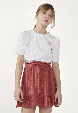 KAYLE  - A-lijn rok - rood