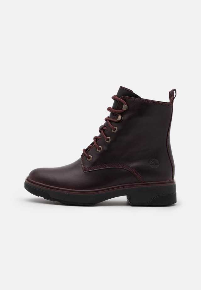 NOLITA SKY LACE UP - Lace-up ankle boots - burgundy