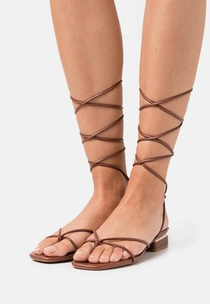 GIANNAFLEX - Teensandalen - medium brown