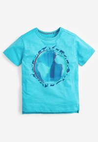 Next - PLANET EARTH T-SHIRT (3-16YRS) - Print T-shirt - blue - 0
