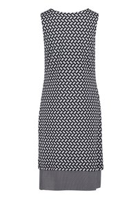 Betty Barclay - Jersey dress - dunkelblau/weiß - 4