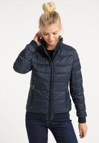 DreiMaster - STEPPJACKE - Winter jacket - marine - 0